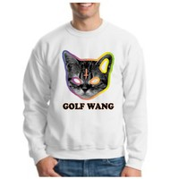Golf Wang Cat CREWNECK OFWGKTA GolfWang TYLER the Creator ODD Future WolfGang CREWNECK Sweatshirt