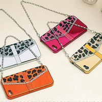 iPhone4 Leopard Ladies Handbag Case Birthday Gift - GULLEITRUSTMART.COM