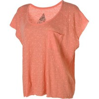 Volcom Moclov Square T-Shirt - Short-Sleeve - Women's Coral Haze, S