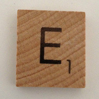 Scrabble Tile and Eproxy Sticker
