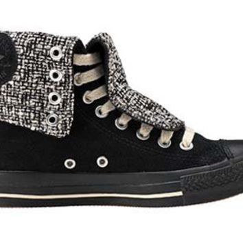 Converse Chuck Taylor All Star X Hi Black Tweed men's 7.5/ women's 9.5