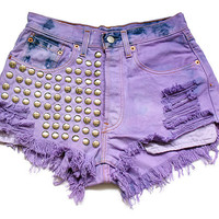 XMAS SALE 50% off with code XMAS50: High waist denim shorts S
