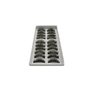 Amazon.com: 10 Pairs of Reusable Thick False Eyelashes: Beauty