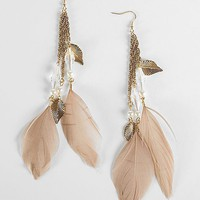 Daytrip Feather Chain Earring - Women&#x27;s Accessories | Buckle