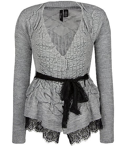 BKE Boutique Ruched Cardigan Sweater - Women's Sweaters | Buckle