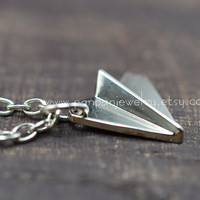 One Direction, Paper Airplane Necklace, Harry Styles, 1D Necklace