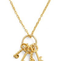 Keys to the Queendom Necklace | Mod Retro Vintage Necklaces | ModCloth.com