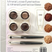 Mineral Loose Eyeshadow & Mineral Eyeshadow Base
