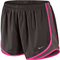 Nike Ladies Velvet Brown Tempo Running Shorts (XS=0-2)
