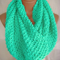 Hand Knitted Hooded Cowl/Scarf/Neck Warmer by Arzu's Style