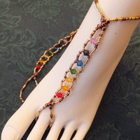7 Chakras Clearing Foot Jewelry