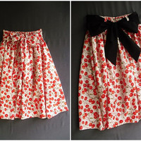 Pretty Season Mid Skirt Autumn And Winter Skirt by Thaiclothes