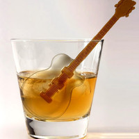 Cool Jazz Guitar Ice Cube Tray and Stir Sticks $7.49