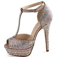 Crystal T-strap Pump - Colin Stuart - Victoria's Secret