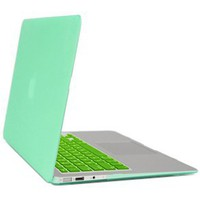 Gearonic Rubberized PC Hard Case with Keyboard Cover and Screen Protector for 11-Inch Macbook Air,