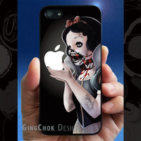 Zombie iPhone 5 case, iPhone case for iPhone 5, Black Case.