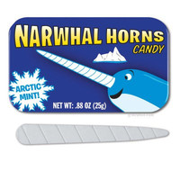 Narwhal Horn Candies | Off the Wagon Shop