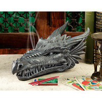 Smoking Dragon Incense Box | Home Living | SkyMall