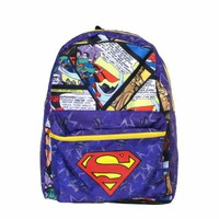 DC Comics Superman Backpack Size : One Size