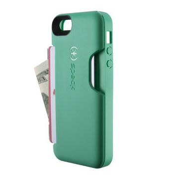 Speck Products SmartFlex Card Case for iPhone 5 - Retail Packaging - Malachite Green