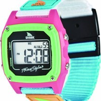 Freestyle women's FS84861 Shark Clip Classic Retro Television Screen Case Digital Watch