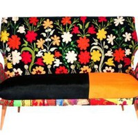 One Kings Lane - nuLOOM - Madison Flora Sofa