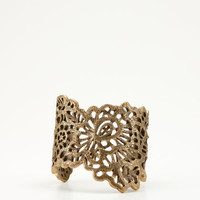 Ann Taylor Bronze Lace Cuff 
