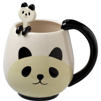 Panda Fancy Mug Set | Mod Retro Vintage Kitchen | ModCloth.com