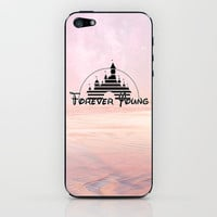 Disney forever young iPhone &amp; iPod Skin by Tilly | Society6