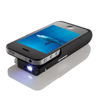 Pocket Projector for iPhone 4 Devices at BrookstoneBuy Now!