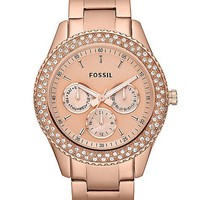 Fossil Stella Rose Watch - Women&#x27;s Watches | Buckle