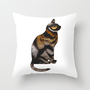 THE TIGER WITHIN Throw Pillow by catspaws | Society6