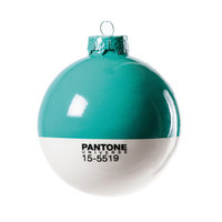 Pantone Turquoise Holiday Ornament | Cooper-Hewitt Shop