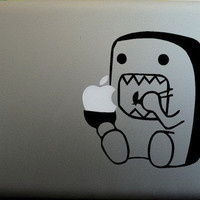 Monster Eating Macbook Decals Macbook Sticker by getfreshsticks