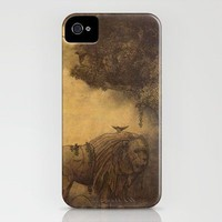 Lost Lion  iPhone Case by Terry Fan | Society6