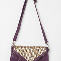 Urban Outfitters - Kimchi Blue Double-Zip Tack-Stud Envelope Bag