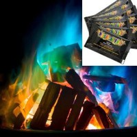 Mystical Fire Campfire Fireplace Colorant Packets 12 Pack