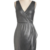 Jack by BB Dakota Pewter Specialist Dress | Mod Retro Vintage Dresses | ModCloth.com