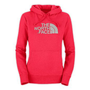 Amazon.com: The North Face Half Dome Pullover Hoodie - Women&#x27;s Teaberry Pink, XL: Clothing