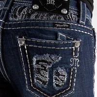 Miss Me Zebra Glitz Boot Stretch Jean - Women&#x27;s Jeans | Buckle