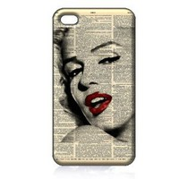 Amazon.com: Marilyn Monroe Hard Case Cover Skin for Iphone 4 4s Iphone4 At&amp;t Sprint Verizon Retail Packing: Everything Else