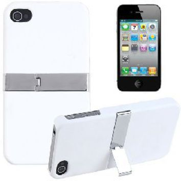 Polycarbonate Protective Cover Hard Case Shield with Foldable Kickstand Bracket for Apple iPhone 4G [4553] - US$3.22 - China Electronics Wholesale - FlyDolphin.com