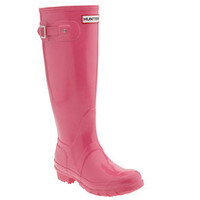 Hunter Original Tall Rain Boots Pink Sz 7F 6M $125 7