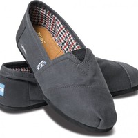 Classics - Movember Grey Black Women&#x27;s Classics | TOMS.com