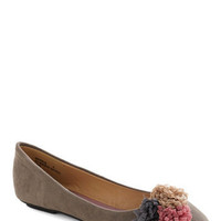Pretty Little Party Flat | Mod Retro Vintage Flats | ModCloth.com