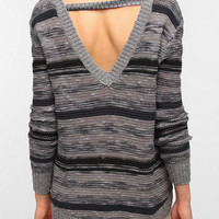 Ecote Space-Dye V-Back Sweater