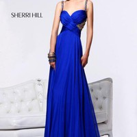 Sherri Hill Dress 11013 at Peaches Boutique