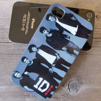 Custom One Direction iPhone 4 Case - iPhone 4S Case Cover - Plastic