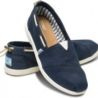Navy Nautical Women's Biminis | TOMS.com