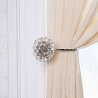 Antique Brooch Curtain Tie Back